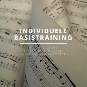 Individuele Basistraining | Coaching voor muzikanten